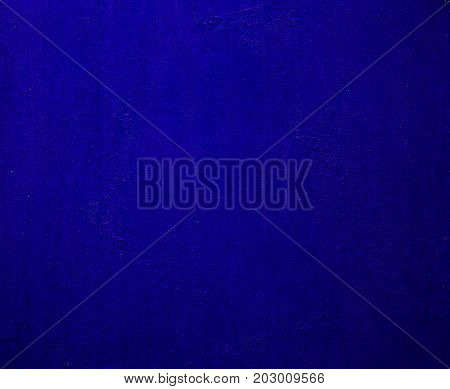 Background of a painted blue iron metal sheet iron texture