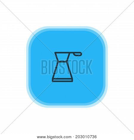 Beautiful Kitchenware Element Also Can Be Used As Kettle Element.  Vector Illustration Of Pot Icon.