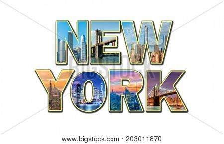Collage of New York photos