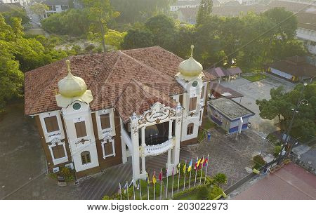 MALACCA MALAYSIA - NOVEMBER 6 2016 : The Proclamation of Independence Memorial is a museum in Malacca City Malacca Malaysia.