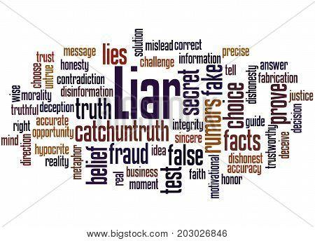 Liar, Word Cloud Concept 3