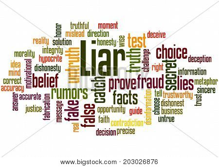 Liar, Word Cloud Concept 5