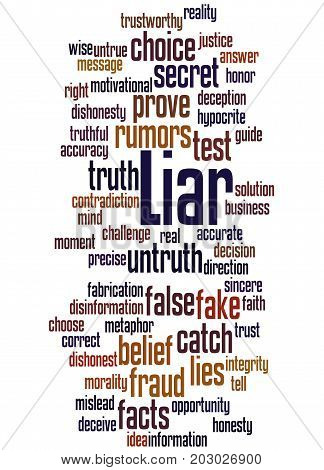 Liar, Word Cloud Concept 6