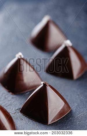 Luxury Pyramid Shaped Chocolate Candy