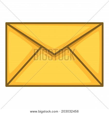 Envelope icon. Cartoon illustration of envelope vector icon for web