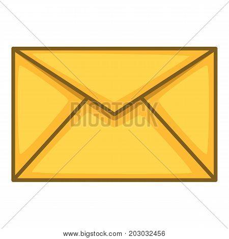 Envelope icon. Cartoon illustration of envelope vector icon for web