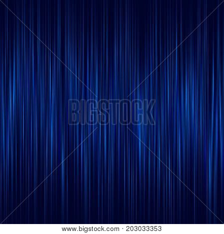 Abstract Blue and vertical lines background, Detailed Geometrical Vector Illustration. Background for web and for printing.