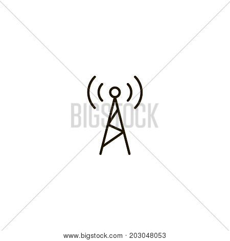 Wi Fi flat icon. Single high quality symbol of line wi-fi vector for web design or mobile app. Color signs of wifi for design logo. Single pictogram of internet on white background
