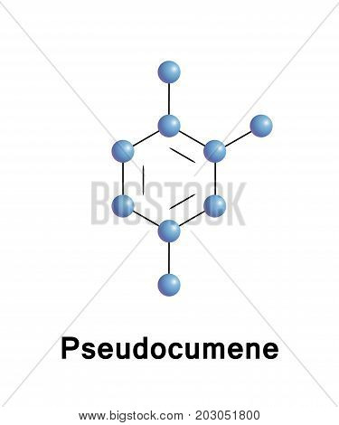 124-Trimethylbenzene also known as pseudocumene is an organic compound classified as an aromatic hydrocarbon