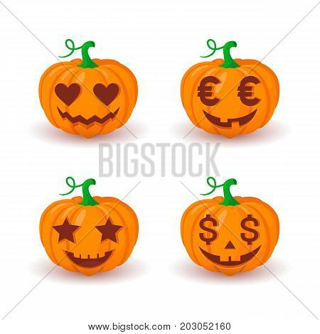 Traditional halloween symbol easy to edit. Eps 10 vector illustration