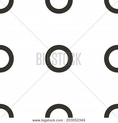 Vector seamless pattern. Circles, point, spots, polka dot texture. Modern graphic design. Hipster creative tileable print.