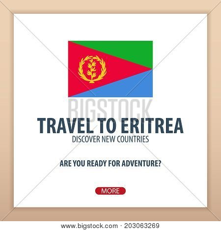 Travel To Eritrea. Discover And Explore New Countries. Adventure Trip.