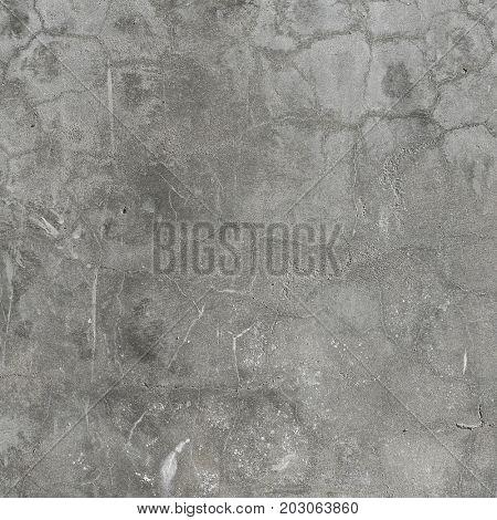 grey concrete wall.