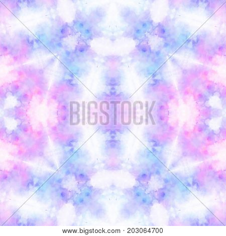 Abstract blurry smoky symmetry pasel light design