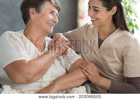 Spending Time In Retirement Home