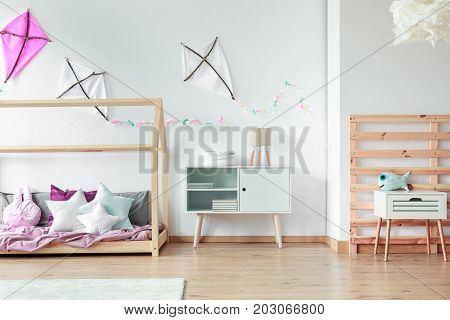 Diy Kites In Creative Bedroom