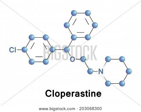 Cloperastine is an antitussive and antihistamine it is a cough suppressant