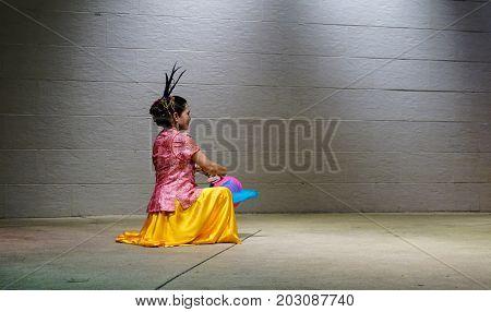 A Dancing Show In Kuala Lumpur, Malaysia