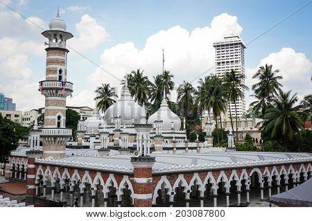 Masjid Jamek In Kuala Lumpur, Malaysia