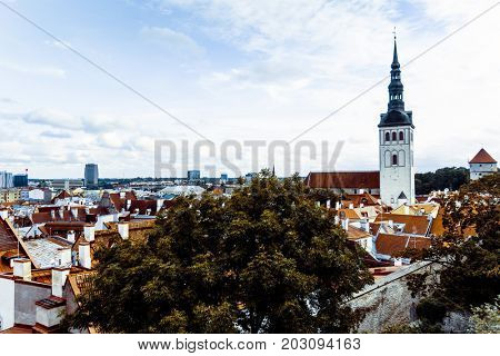 Saint Nicholas Orthodox Church in Tallinn, Estonia