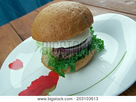 Ultimate Greek Burgers