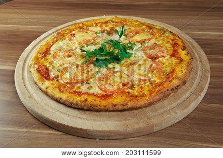 Pizza Aglio, Olio E Pomodoro