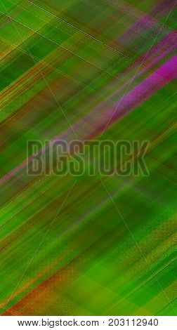 Geometric bright green abstract background. Textured template for picture frames, booklets, covers, greeting cards, flyers, posters, invitations, leaflets, textile, wallpaper, scrapbook, wrapping paper. Design with crossed lines and strips