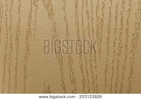 The relief structure of the decorative surface in beige tone