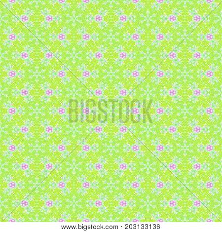 Soft repeating beautiful decorative seamless dreamy pattern