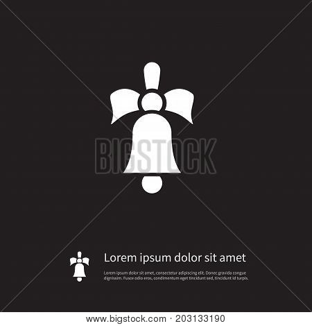 Sound Vector Element Can Be Used For Ringing, Sound, Jingle Design Concept.  Isolated Ringing Icon.