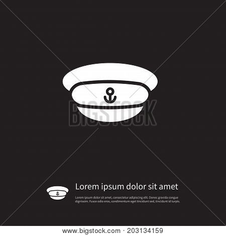 Uniform Vector Element Can Be Used For Captain, Hat, Uniform Design Concept.  Isolated Costume Icon.