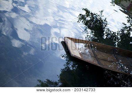 Boat In A River