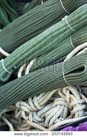 Ropes In A Military Market