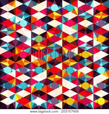 abstract colored geometric elements. vector illustration abstract high quality