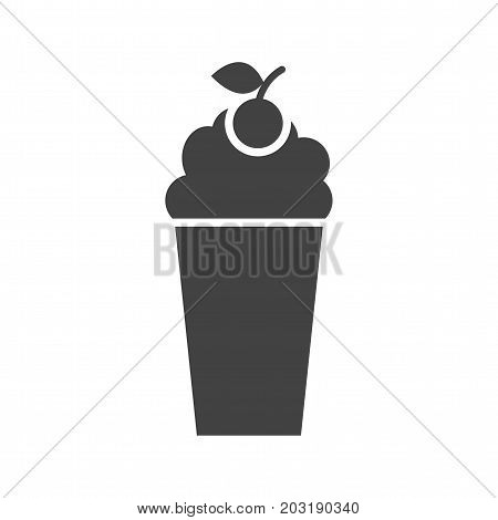 Milkshake, cafe, strawberry icon vector image. Can also be used for Cafe and Bar. Suitable for web apps, mobile apps and print media.