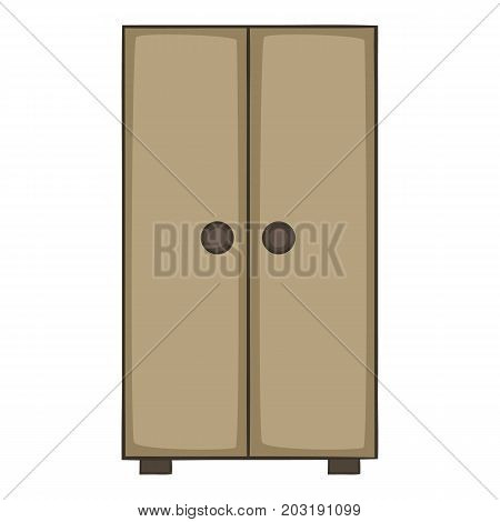 Cupboard icon. Cartoon illustration of cupboard vector icon for web