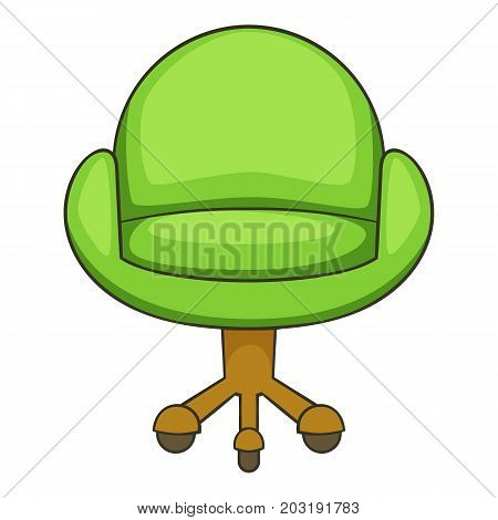 Chair icon. Cartoon illustration of chair vector icon for web