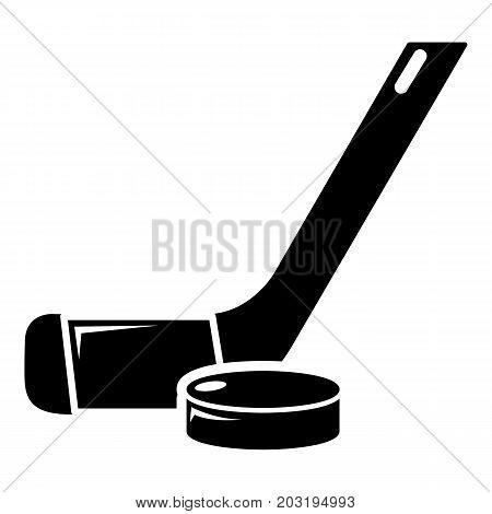 Stick washer ice hockey icon . Simple illustration of stick washer ice hockey vector icon for web design isolated on white background