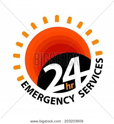 24Hr Emergency Services Logo