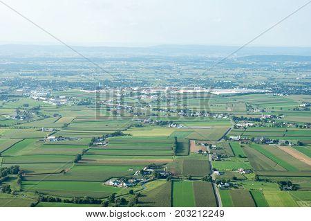 Farmland To The Horizon