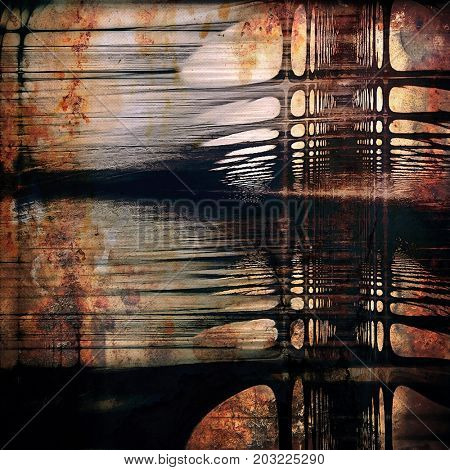 Art vintage texture for background in grunge style. With different color patterns