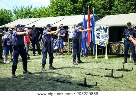 26Th Anniversary Of The Croatian Armed Forces