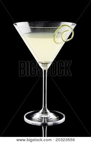 Daiquiri isolated on a black background