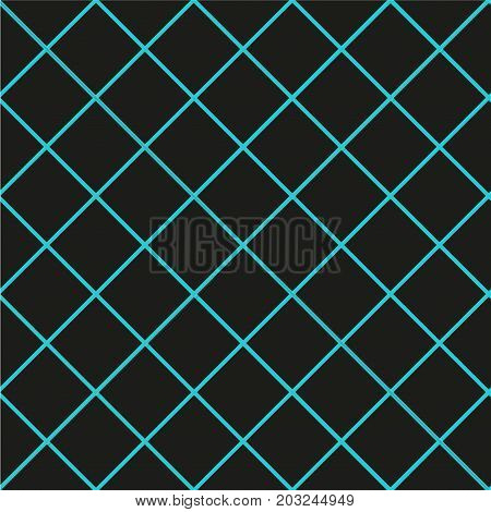 Pattern with the mesh, grid. Seamless vector background. Abstract geometric texture. Rhombuses wallpaper. Diamonds motif Digital paper for print on fabric, gift wrap, web backgrounds, scrap booking