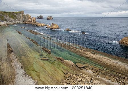 Cantabria, Costa Quebrada, Amazing Rock Formations