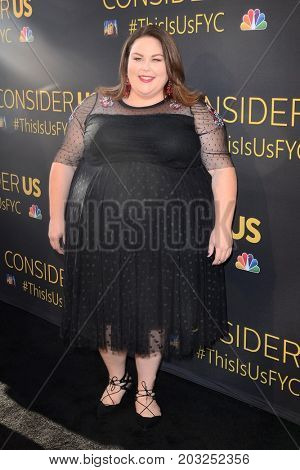 LOS ANGELES - AUG 14:  Chrissy Metz at the FYC Panel Event For 20th Century Fox And NBC's