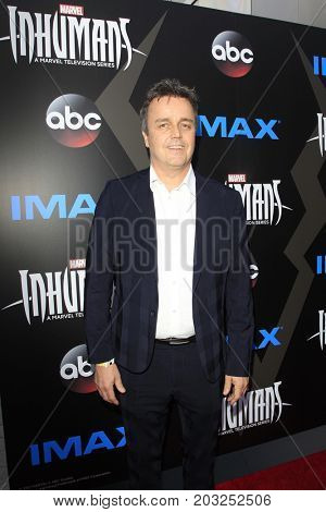 LOS ANGELES - AUG 28:  Sean Callery at the ABC and Marvel's