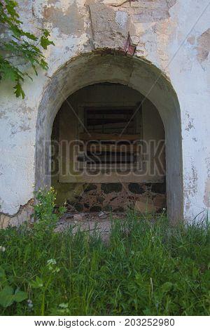 Ruins Of The Old Brick House Of Tomasz Wawzecki. Vidzy Village