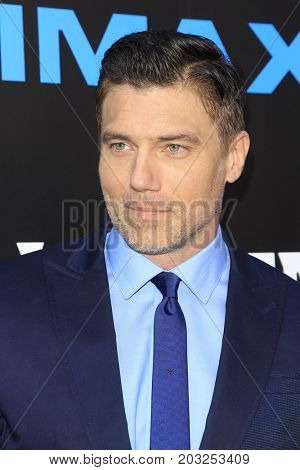LOS ANGELES - AUG 28:  Anson Mount at the ABC and Marvel's