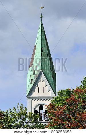 Church of Queen Luisa. Kaliningrad before Koenigsberg Russia